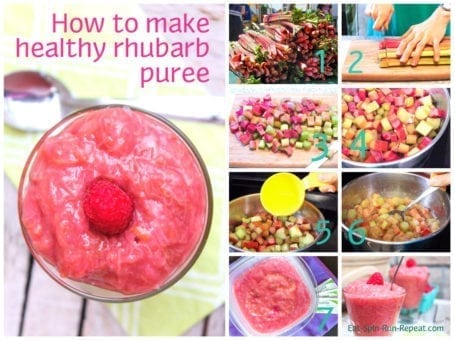 How To Make Healthy Rhubarb Puree