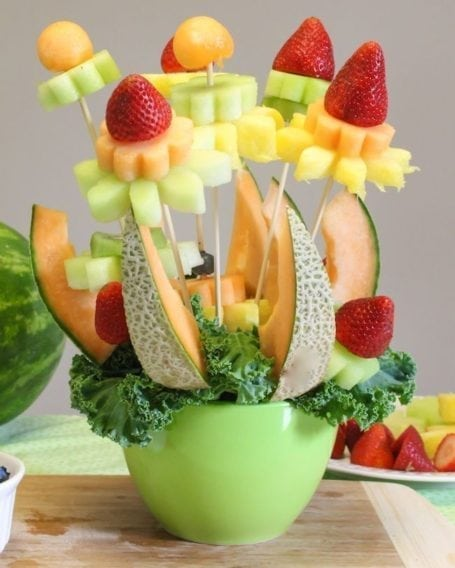 How to make a fruit bouquet - Eat Spin Run Repeat