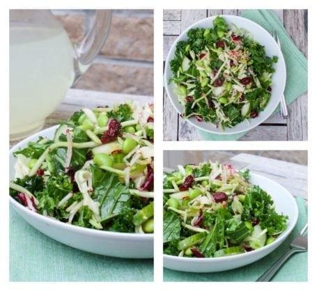Recipe - Sesame Orange Kale Salad - Eat Spin Run Repeat