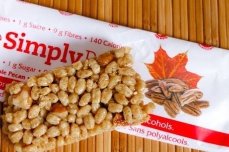 simply bar - maple pecan
