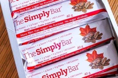 simply bar - maple pecan - box