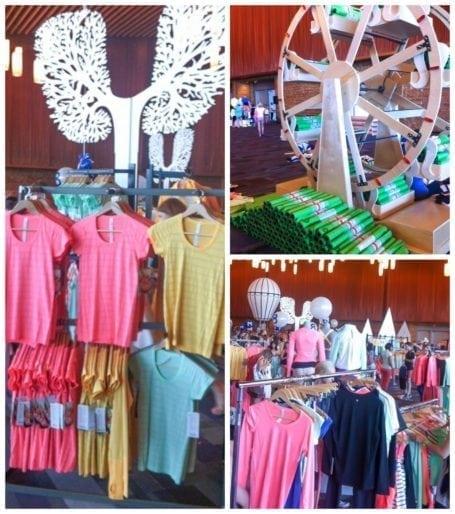 SeaWheeze store at Lululemon Seawheeze Expo