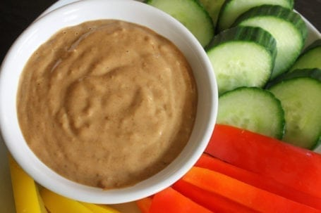 almond dipping sauce
