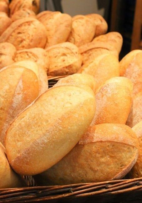 bread at granville market