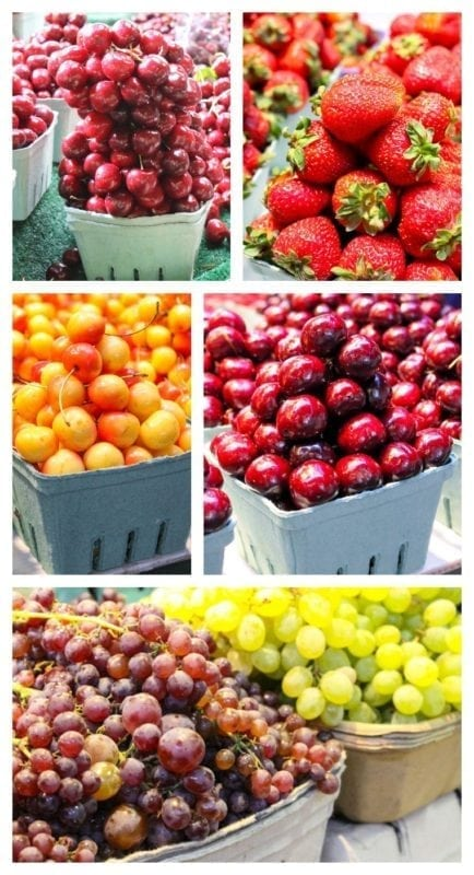 fruit at granville island market