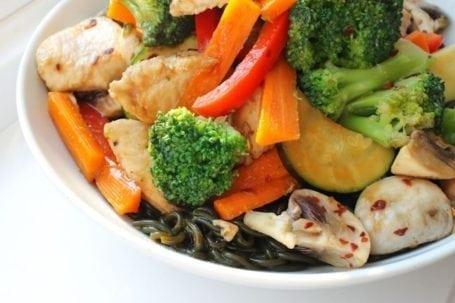 sea snax oodles stir fry