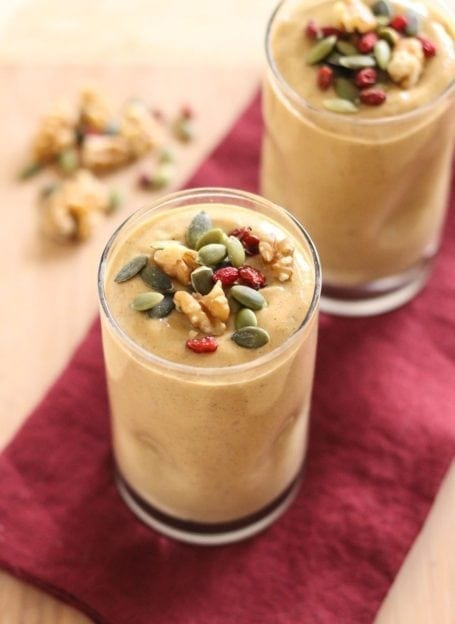 Banana Nut Smoothie - Eat Spin Run Repeat