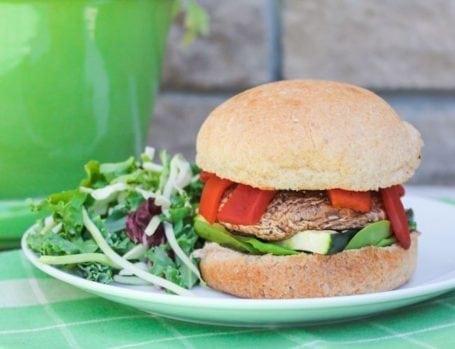 Super Easy Portobello Burgers