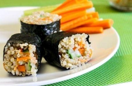 complete quinoa sushi rolls