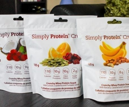 simply protein crunch