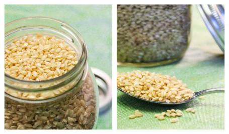 uncooked short grain brown rice