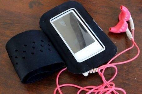 ipod and armband