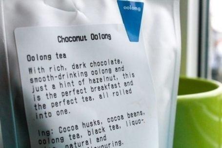Choconut oolong - David's Tea