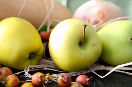 apples and squash