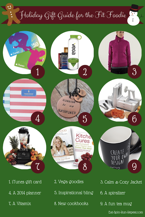 Holiday Gift Guide for the Fit Foodie - Eat Spin Run Repeat