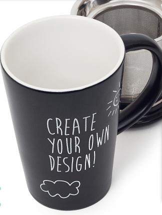 davids tea customizable mug