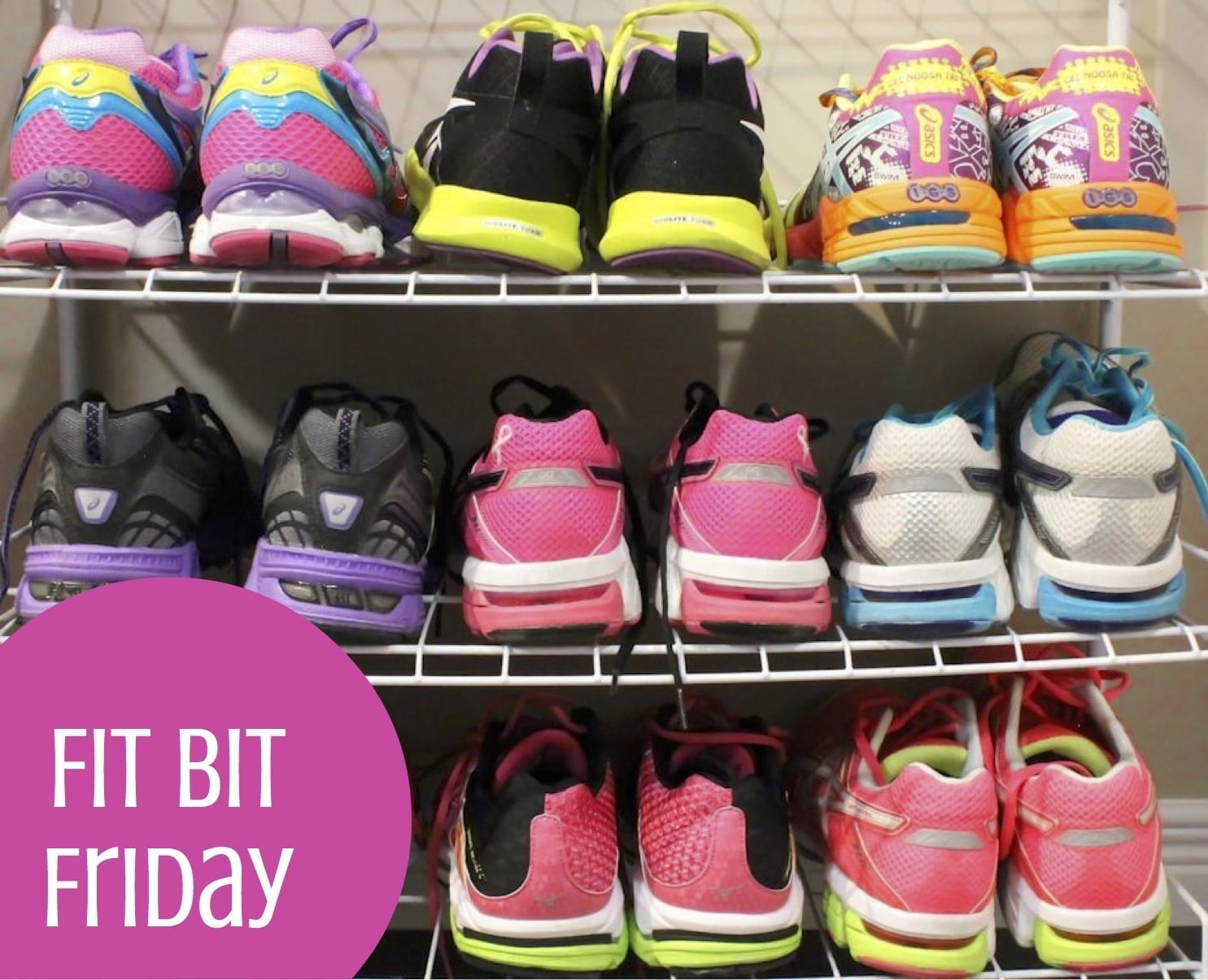 Fit Bit Friday Workouts - Eat Spin Run Repeat