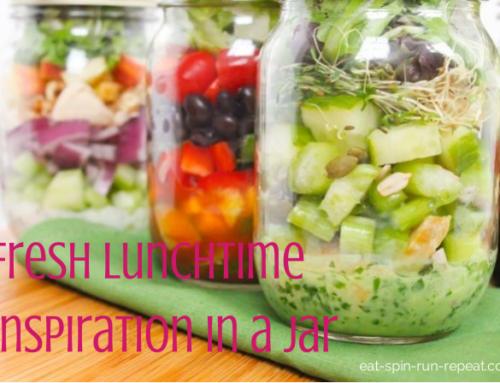 Fresh Lunchtime Inspiration in a Jar
