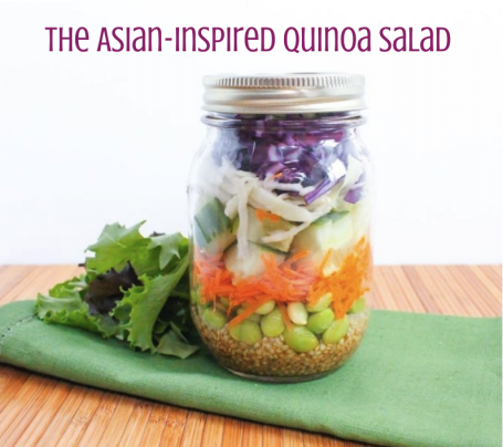 The Asian Inspired Quinoa Salad