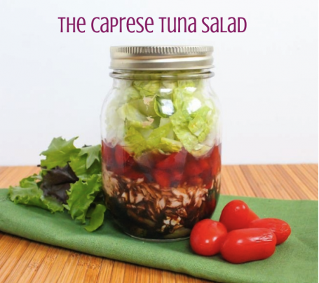 The Caprese Tuna Salad