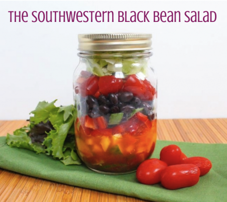 The Southwestern Black Bean Salad