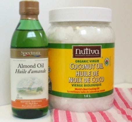 almond and coconut oil