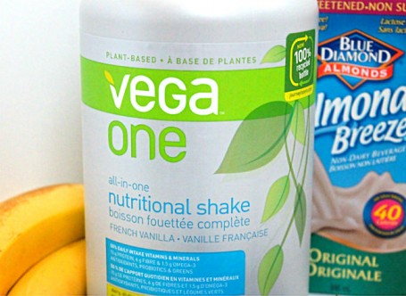 vega one french vanilla large tub