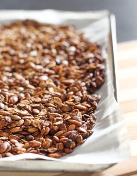 baked matcha granola