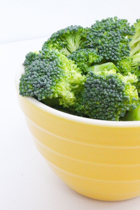 chopped broccoli florets