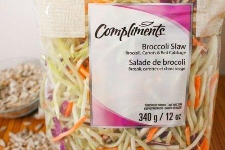 compliments broccoli slaw