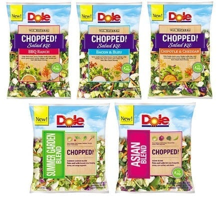 dole chopped salads