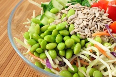speedy big-batch meal prep: asian broccoli slaw salad | eat spin run repeat