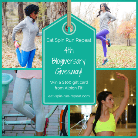 Albion Fit Giveaway - Eat Spin Run Repeat