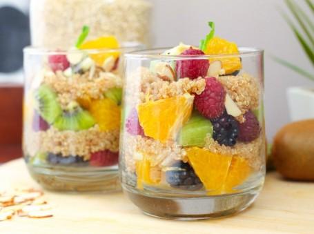 Fruit and Quinoa Parfait - Eat Spin Run Repeat