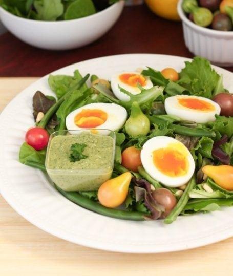 Heirloom Tomato Sunburst Salad - Eat Spin Run Repeat