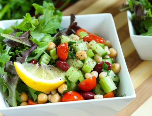 Speedy Big-Batch Meal Prep: Middle Eastern 3-Bean Salad