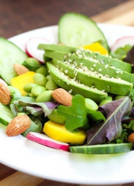 The Rainbow Vitality Salad - Eat Spin Run Repeat