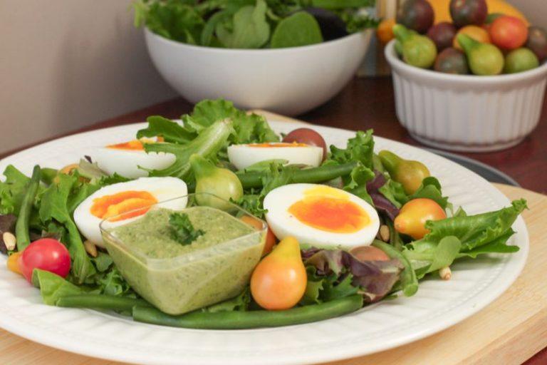 Tomato Sunburst Salad - Eat Spin Run Repeat