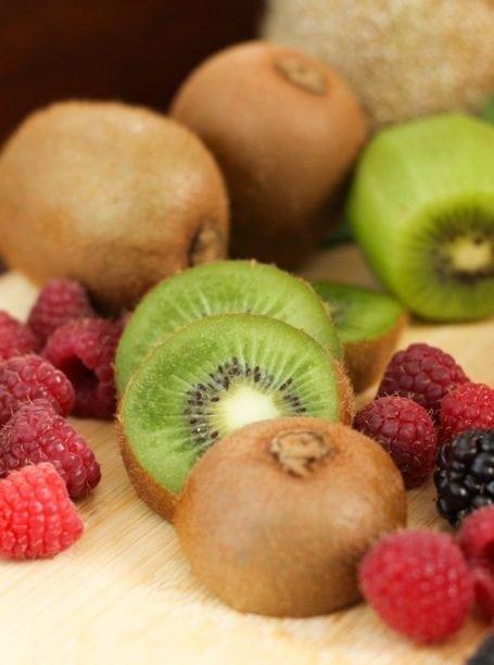 kiwis and berries