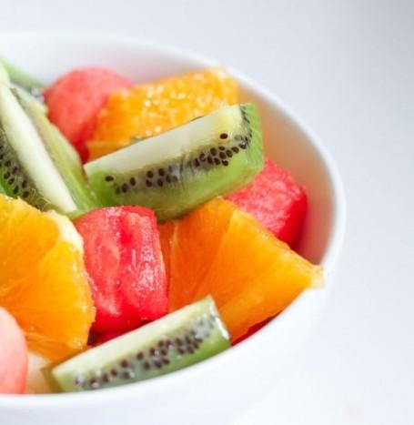 melon oranges and kiwis