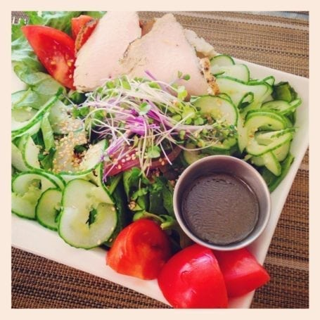 The Works Salad at Organic Works Bakery London ON
