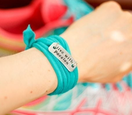 live with passion wrist wrap