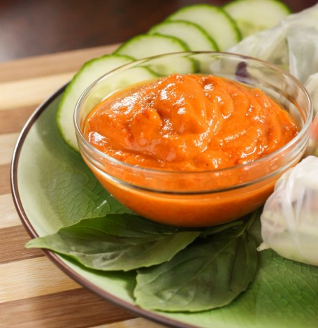thai red curry dipping sauce