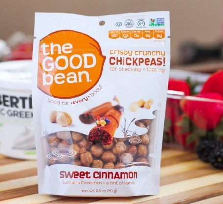 the good bean cinnamon chickpeas