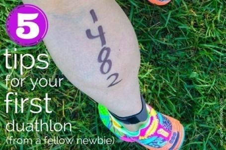 5 tips for your first duathlon from a fellow newbie - Eat Spin Run Repeat