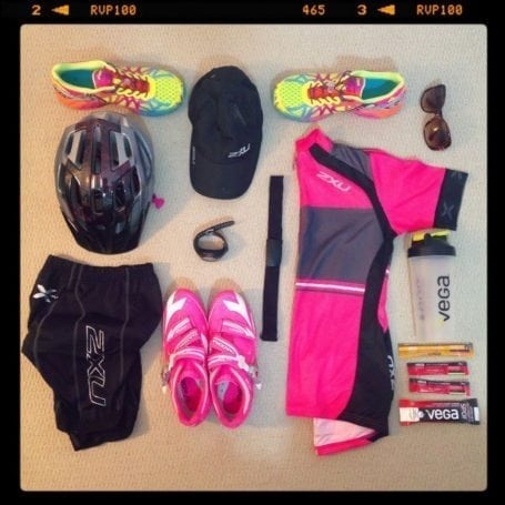 Duathlon racing gear