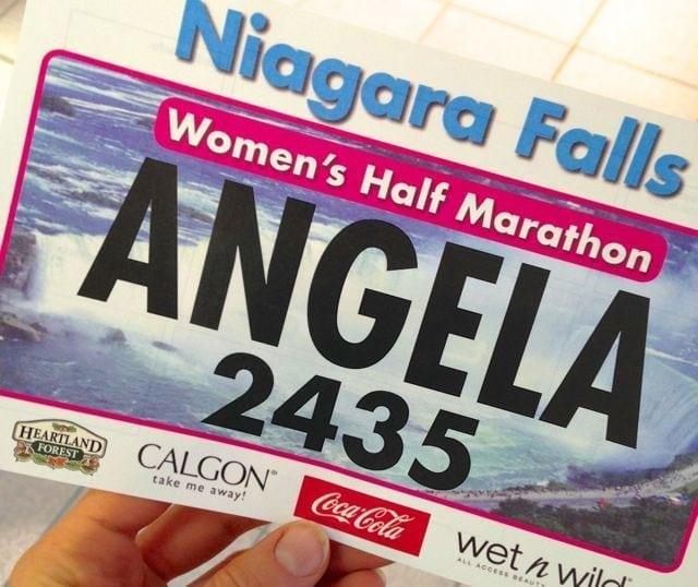 Niagara Falls Women's Half Marathon Bib