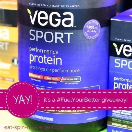 vega fuelyourbetter giveaway - instagram