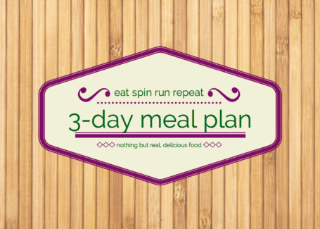 Free 3-day clean eating meal plan - Eat Spin Run Repeat