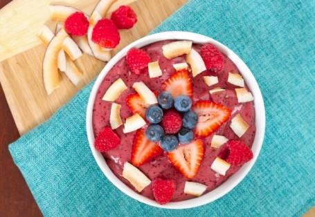 Mega Antioxidant Acai Smoothie Bowl - Eat Spin Run Repeat